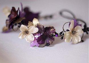 - Podzimní věneček-fialový   - 1798777