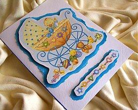 Papiernictvo - Pohľadnica k narodeniu chlapčeka - 1801320
