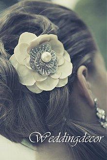 Ozdoby do vlasov - Kvietok do vlasov - 1805037