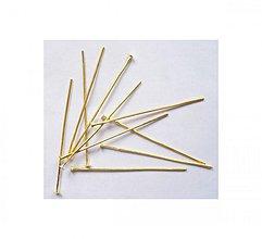 Komponenty - NIT1180, NIT 3cm ZLATÝ /50ks - 1805096