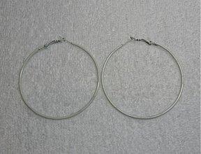Komponenty - Kov.kruhy 6cm-1pár (biela) - 1807643