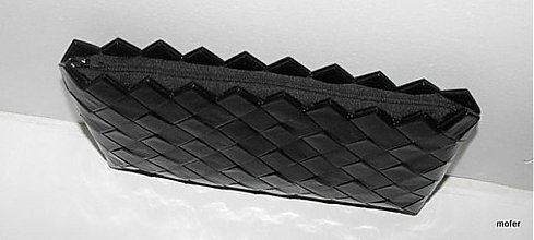 Kabelky - čierna listovka Ecoist - 1807850