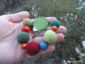 Náhrdelníky - Toto je ježkov príbeh... - náhrdelník - 1808073