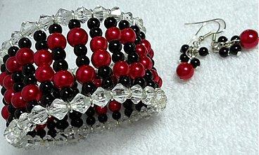 Sady šperkov - Náramok a náušnice - 1815700