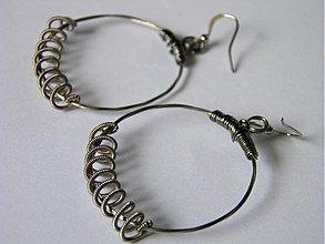 Náušnice - String circles 02 - 1821943