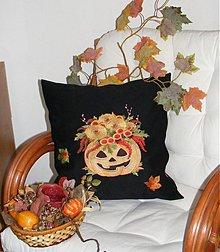 Úžitkový textil - vankúš-hallowen - 1823422