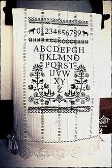Úžitkový textil - Scandinavian countryside - 1829640