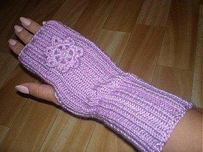 Rukavice - Ručne pletené rukavice - 183027