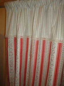 Úžitkový textil - Záves  alpský - do drevenice - - 1830322