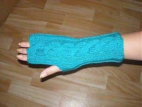 Rukavice - Ručne pletené rukavice - 183033