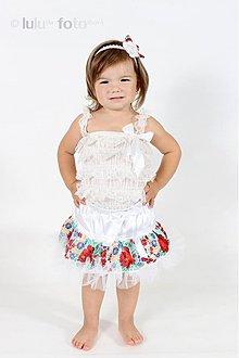Detské oblečenie - jedinečná krojová TUTU :) - 1834503