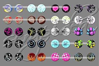 Materiál ručne robený - Motívy na šperky č.14-akcia na všetky motívy-4+1zdarma - 1836257