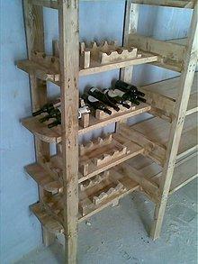 Nábytok - Stojan na vinove flaše - 1841472