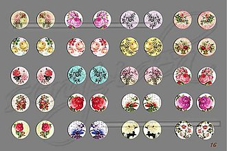 Materiál ručne robený - Motívy na šperky č.16-akcia na všetky motívy-4+1zdarma - 1841901