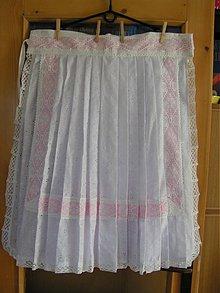 Iné oblečenie - Svadobná zástera ... - 1846487