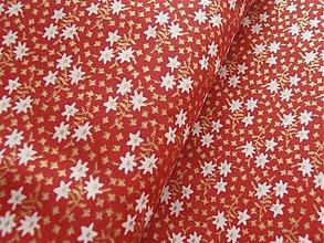 Textil - vianočné kvietky - 1851818