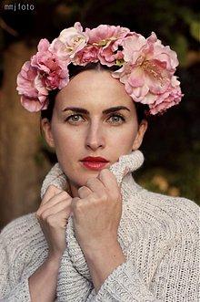 Ozdoby do vlasov - PARTA ružová by Hogo Fogo - 1854579