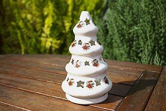 Svietidlá a sviečky - Vianočný svietiaci stromček - 1854642