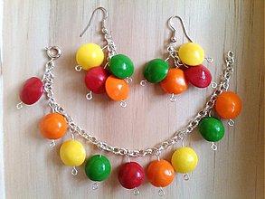 Sady šperkov - lentilky 1 - 1857549