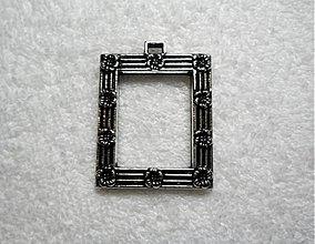 Komponenty - FOTO rámček 46x35mm-st.strieb-1ks - 1859177
