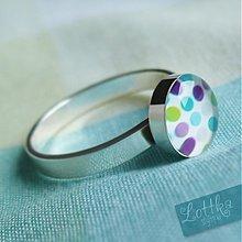 Prstene - Prstýnek Pointillé - stříbro - 1868020