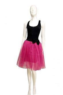 a9c579c6e0c7 Sukne - Ružová tylová suknička - spodnička - 1871999