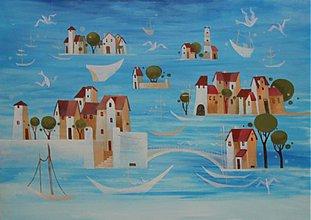 Obrazy - šumí tam more a vrieskajú čajky - 1873626