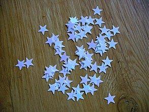 Iný materiál - hviezdička, AB efekt/ 50ks - 1874381