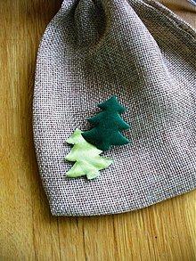 Textil - stromček/ 5ks - 1874408