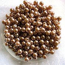 Korálky - perličky 6mm/ 50ks - 1874472