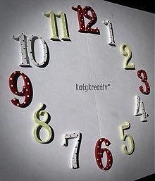 Hodiny - číslice na hodiny - 1880169