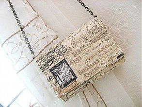 Kabelky - Z Paříže - malá kabelka na ples, do tanečních, ... - 1894770