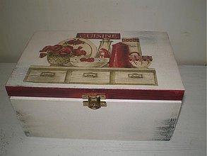 Krabičky - Śperkovnica vlčie maky - 1895224