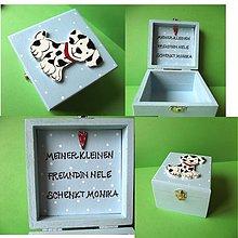 Krabičky - krabička s venovaním - 1895855