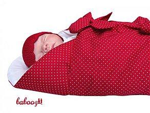 Textil - Perinka TILDA červeno biela UNI - 1900212