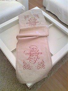Úžitkový textil - vianočný obrus - 1906059