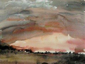 Obrazy - večerné zore... - 1913321