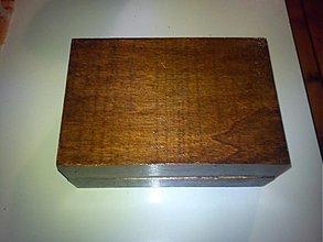 Krabičky - palisanderová krabička - 1913966