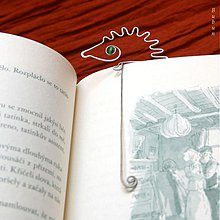 Papiernictvo - Záložka ježko - 1916035