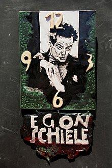 Hodiny - HODINY EGON SCHIELE - 1919433