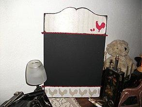 Dekorácie - tabuľka s kriedou na odkazy - 1919929