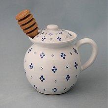 Nádoby - Dóza na med s jedním ouškem - 1922919