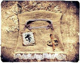 Úžitkový textil - kapsár Country chic - 1924947