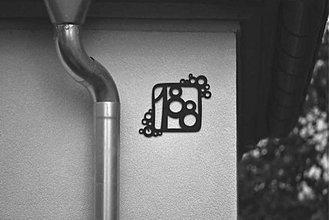 Tabuľky - Číslo na dom / s bublinkami - 1929153