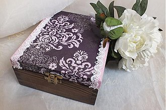 Krabičky - Fialové baroko - 1930625