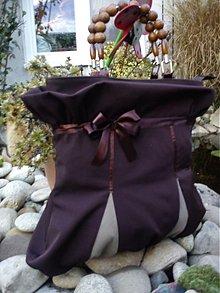 Veľké tašky - Elegantná čokoládová - 1934731