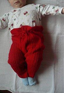 Detské oblečenie - Štrikované detské kaťata jednofarebné - 1937804
