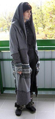 feba0049375e Kabáty - Sivostrieborný svetrový kabátik - 1943438