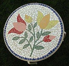 Nábytok - Mozaikový stôl Ľudový - 1943849