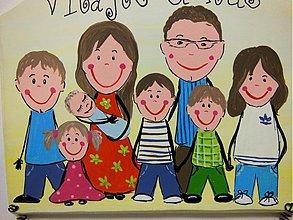 Tabuľky - rodinná tabulka podla vašej foto... - 1944598